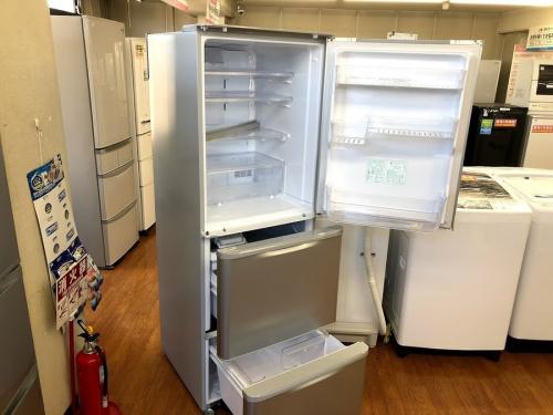 中古冷蔵庫 流山の3ドア冷蔵庫
