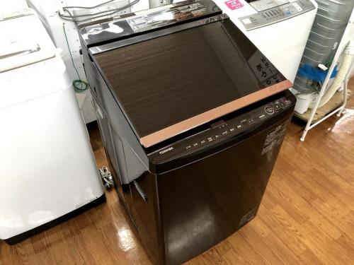 生活家電の洗濯乾燥機