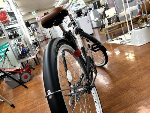 中古自転車のロードバイク