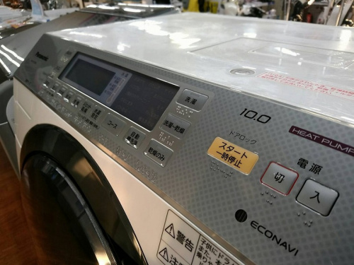 Panasonicの中古洗濯機 流山