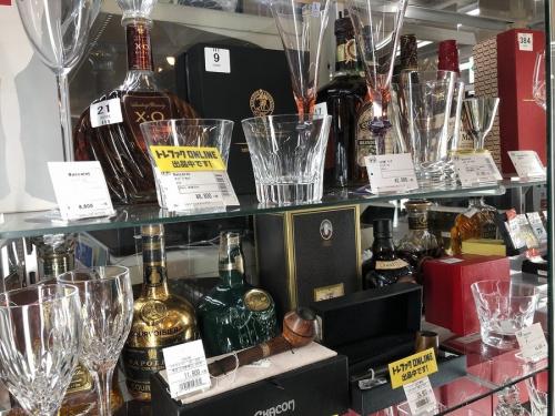 流山店のグラス