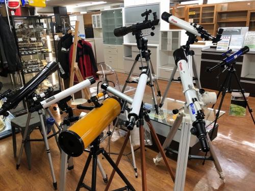 望遠鏡の天体観測