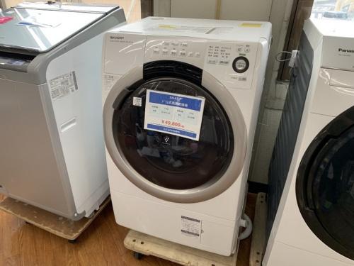 中古家電 流山のドラム式洗濯機 中古