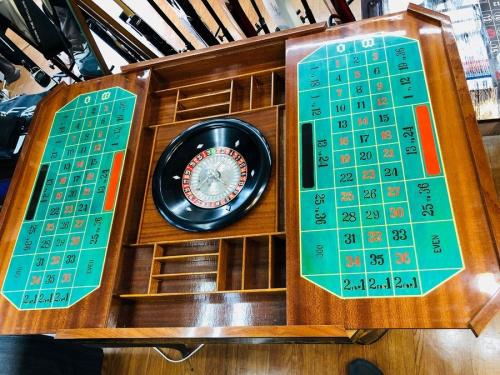 ルーレットのカジノテーブル