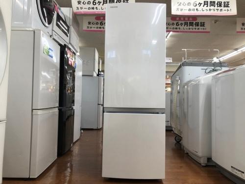 生活家電の2ドア冷蔵庫
