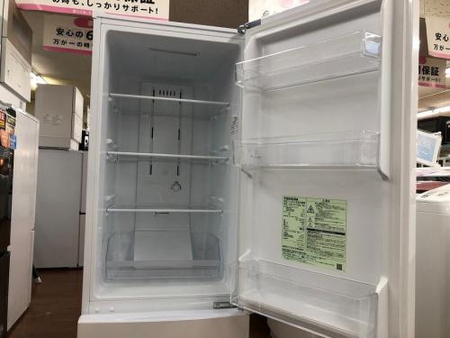 2ドア冷蔵庫のTOSHIBA