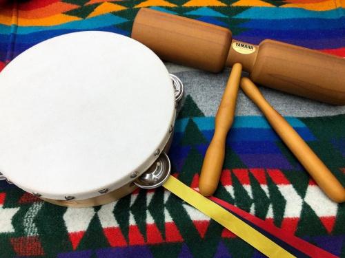 楽器のタンバリン