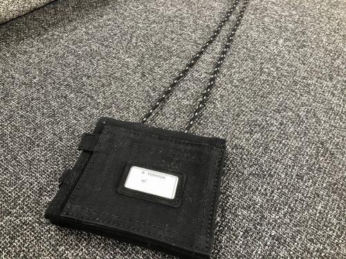 メンズファッションのパスケース
