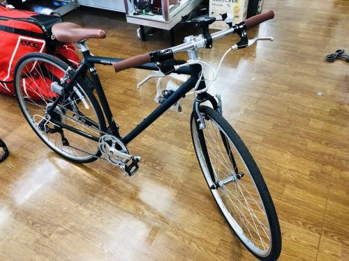 自転車  中古のクロスバイク
