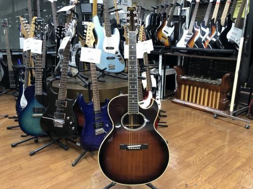楽器のエレアコギター