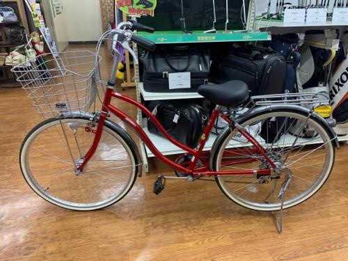 自転車のシティサイクル