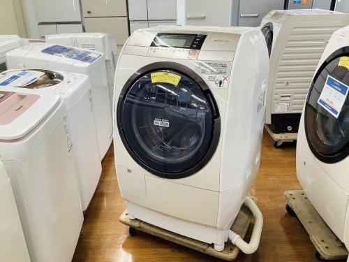 家電 洗濯機 中古のドラム式洗濯機
