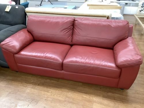 家具の3人掛けソファ-
