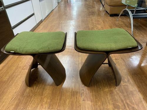 家具のバタフライスツール