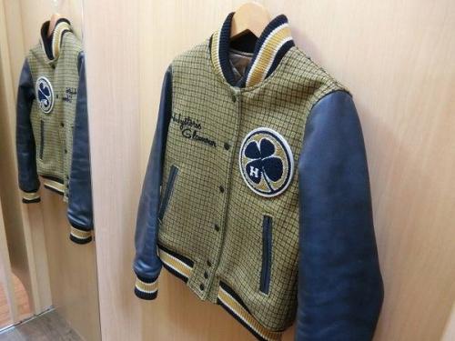 ジャケットのHARLEY-DAVIDSON