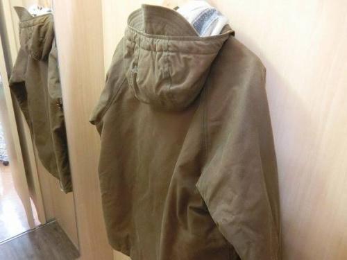 アウターの冬物衣類買取強化中