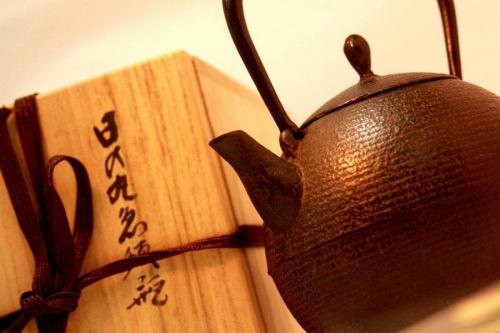 急須瓶の茶碗