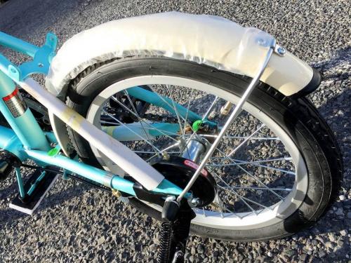 折りたたみ自転車のアウトドア