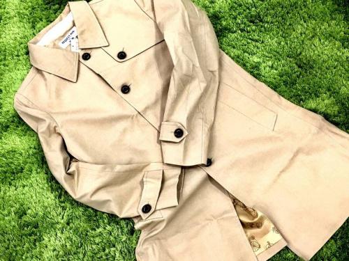ジャケットのトレンチ