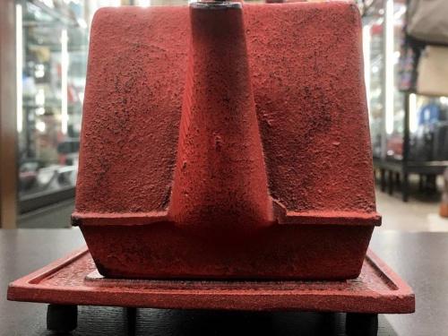 鉄瓶の南部鉄器
