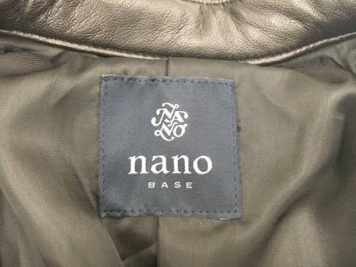 nano・universeのレザージャケット