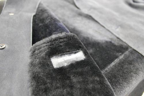 コートのムートン