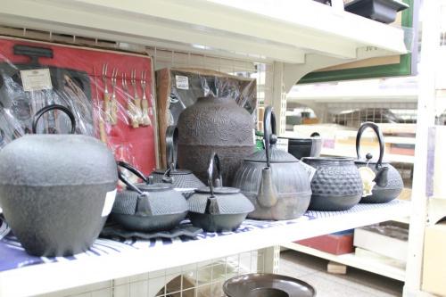和食器の鉄瓶 南部鉄器