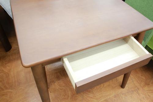 正方形ダイニングテーブル3点セットのミキモク