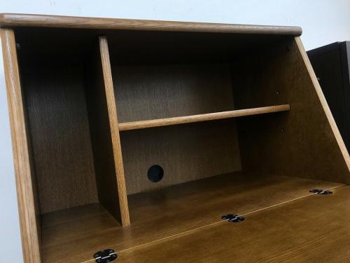 ライティングビューロー デスクの家具