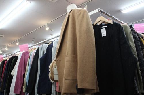 ジャケットのダブルウールジャケット