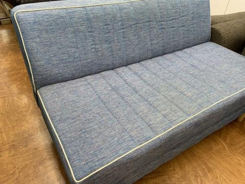 2人掛けソファーの布
