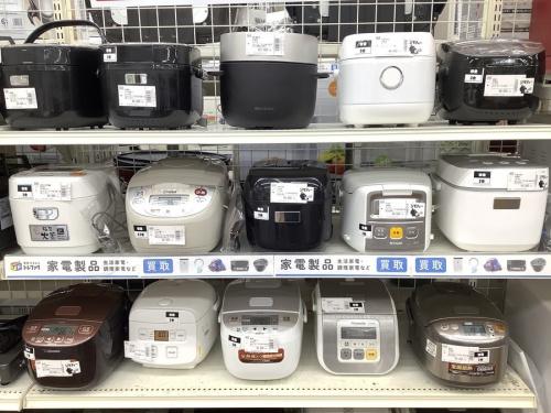 炊飯器のガステーブル