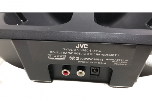AV機器のJVC