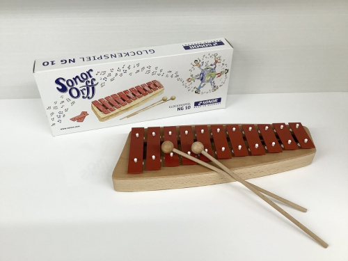 中古楽器店の鉄琴 中古