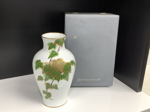 花瓶 大倉陶園の和雑貨
