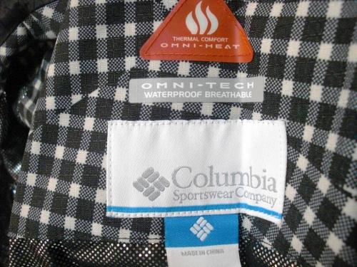 スノーボードウェアのColumbia