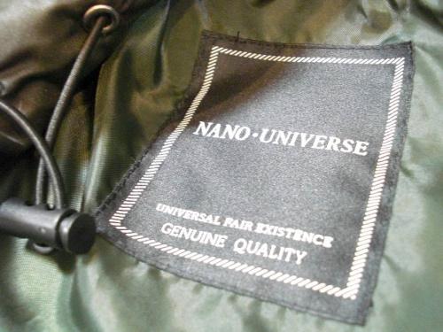 ジャケットのnano・universe