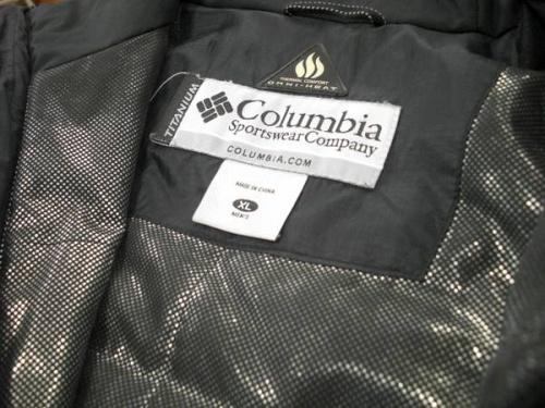 マウンテンパーカーの中綿ジャケット