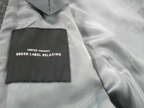ジャケットのgreen label relaxing