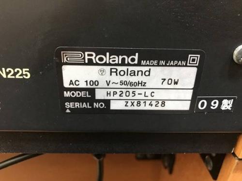 ROLANDのHP205