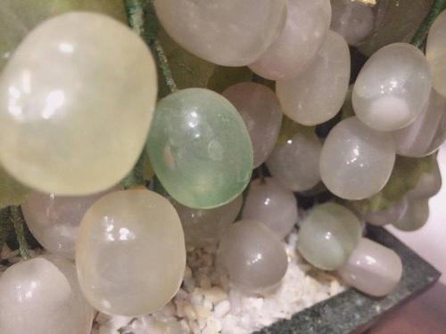 インテリアの翡翠石