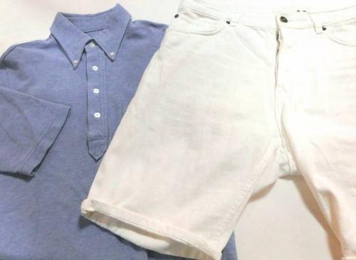 カットソーの夏物衣類