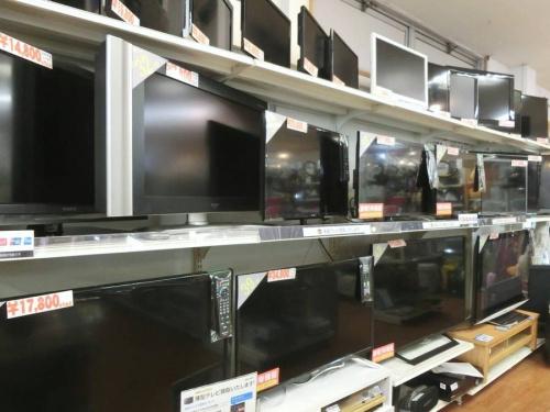 SHARPの中古テレビ