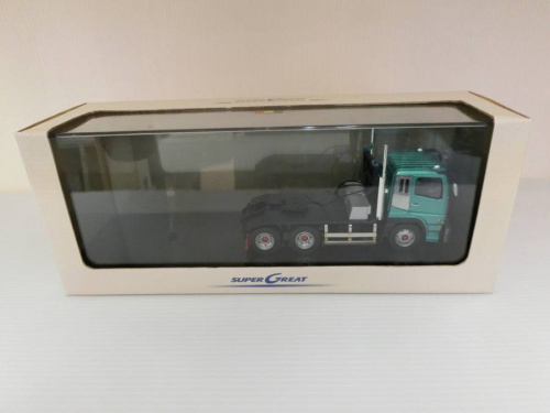ダイキャストカー 1/43三菱ふそうスーパーグレードのAGATSUMA