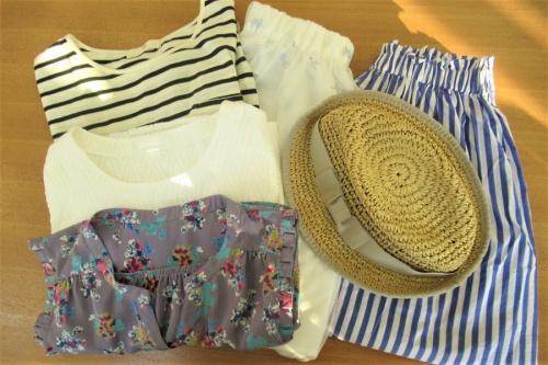 レディースレファッションの夏物