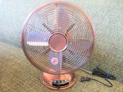 扇風機のデスクトップメタルファン