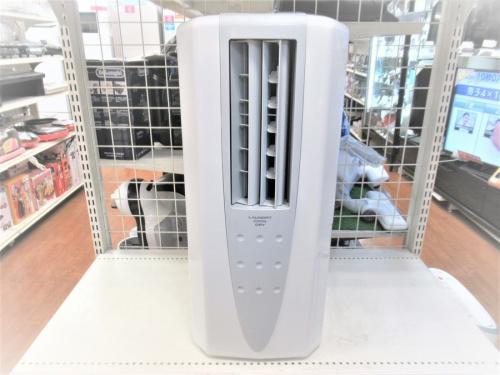 季節家電の除湿機 冷風