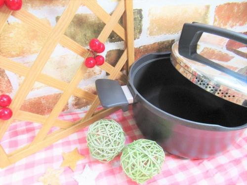 鍋のドライスチーマー
