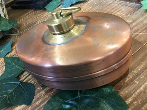 季節雑貨の銅製品