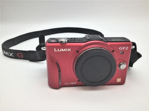 DMC-GF2のミラーレス一眼カメラ